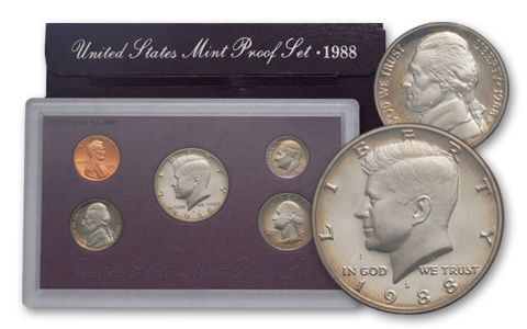 1988 United States Proof Set