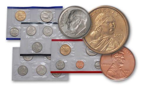 2001 United States Mint Set