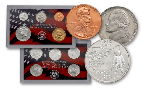 2002 United States Silver Proof Set