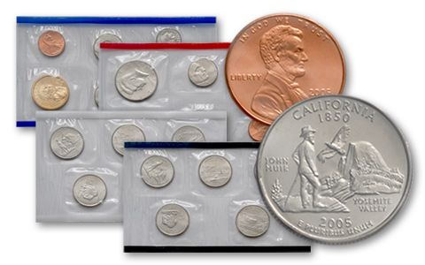 2005 United States Mint Set