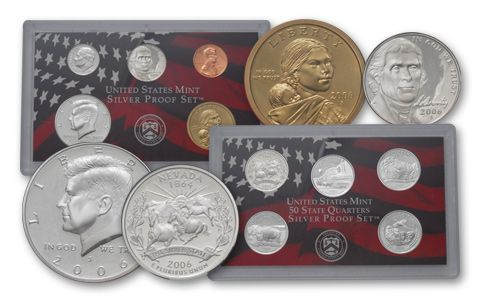 2006 United States Silver Proof Set