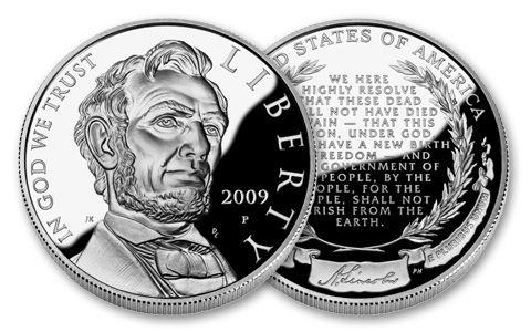 2009 1 Dollar Abraham Lincoln Commemorative Proof