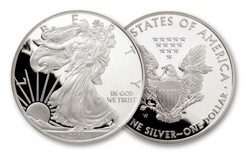 2013 1 Dollar 1-oz Silver Eagle Proof
