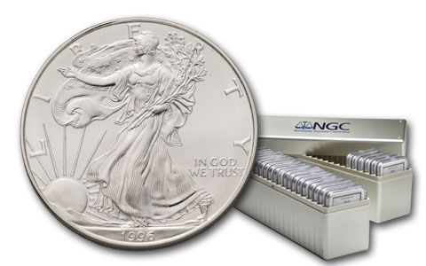 1986-2015 1 Dollar Silver Eagle Collection NGC MS69 30pc