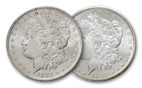 Morgan Silver Dollar Wild West Collection