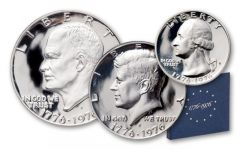 1976 United States Proof Set - 3 Pieces