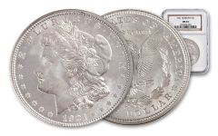 1921-P Morgan Silver Dollar NGC/PCGS MS64