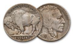 1931-S 5 Cent Buffalo F-VF