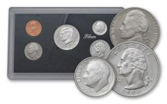 1998-S United States Silver Proof Set