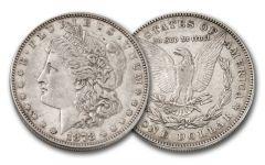 1878-P Morgan Silver Dollar XF