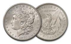 1880-P Morgan Silver Dollar BU