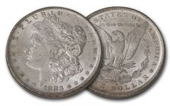 1883-O Morgan Silver Dollar BU