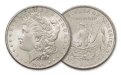 1900-P Morgan Silver Dollar BU