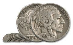 Buffalo Nickel 20 Pieces