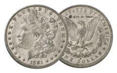 1881-O Morgan Silver Dollar XF
