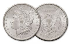 1883-CC Morgan Silver Dollar BU