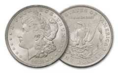 1921-S Morgan Silver Dollar BU