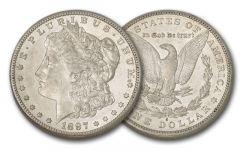 1897-S Morgan Silver Dollar XF