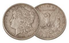 1900-P Morgan Silver Dollar XF