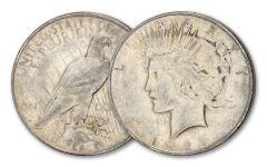 1927-D Peace Dollar XF