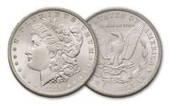 1890-P Morgan Silver Dollar BU