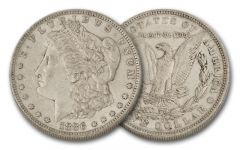 1886-O Morgan Silver Dollar XF