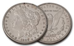 1889-S Morgan Silver Dollar XF