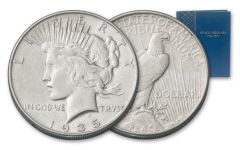 1921-1935 Silver Peace Dollar XF 24-Piece Collection
