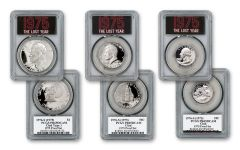 1976-S (1975) The Lost Year 3-pc Set PCGS PR69 DCAM