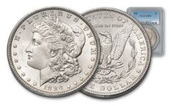 1886-P Morgan Silver Dollar NGC/PCGS MS64