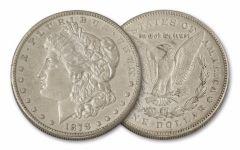 1878-S Morgan Silver Dollar XF