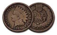 1861–1864 Indian Head Cent G–F