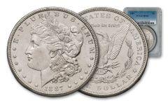 1887-P Morgan Silver Dollar NGC/PCGS MS64