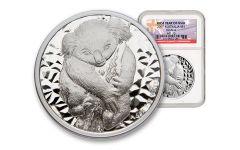 2007 Australia 1-oz Silver Koala NGC MS70