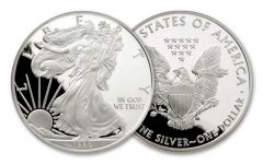 1990-S 1 Dollar 1-oz Silver Eagle Proof