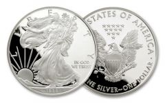 1988-S 1 Dollar 1-oz Silver Eagle Proof