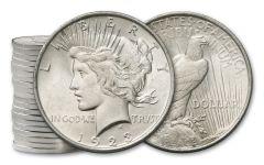 20PC 1923-P $1 PEACE BU ROLL - C1