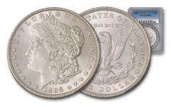 1896-P $1 Silver Morgan PCGS/NGC MS64
