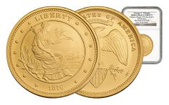 SM $100 1OZ GOLD UNION MATTE NGC-GEM UNC