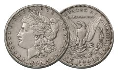 1896-S Morgan Silver Dollar XF