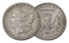 1896-S Morgan Silver Dollar XF