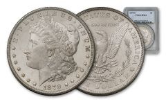 1879-S Morgan Silver Dollar NGC/PCGS MS64