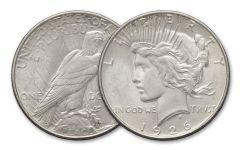 1926-S $1 PEACE BU