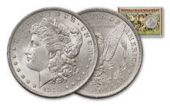 1883-O Morgan Silver Dollar Buffalo Bill BU