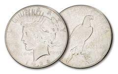 1928-S Peace Silver Dollar XF