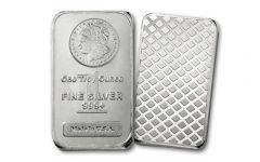 Morgan Design 1-oz Silver Bar