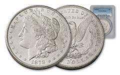 1878-S Morgan Silver Dollar NGC/PCGS MS63