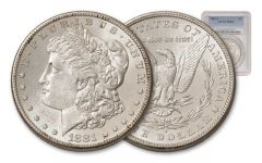 1881-S 1 Dollar Morgan PCGS/NGC-MS64