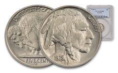 1938-D Buffalo Nickel NGC/PCGS MS65
