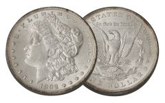 1892-O Morgan Silver Dollar BU